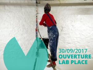 Ouverture Lab Place. Affiche