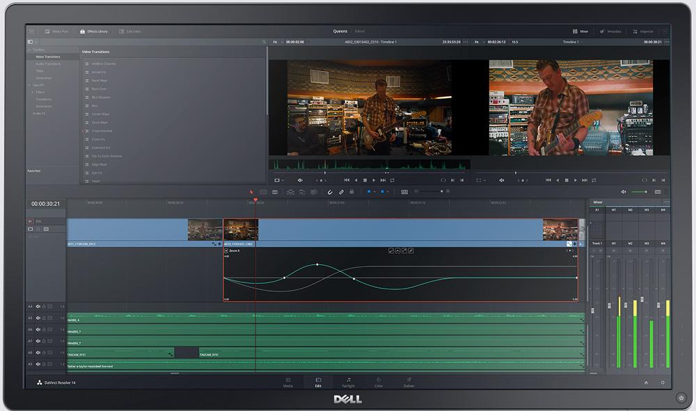 Capture d'ecran logiciel Da Vinci
