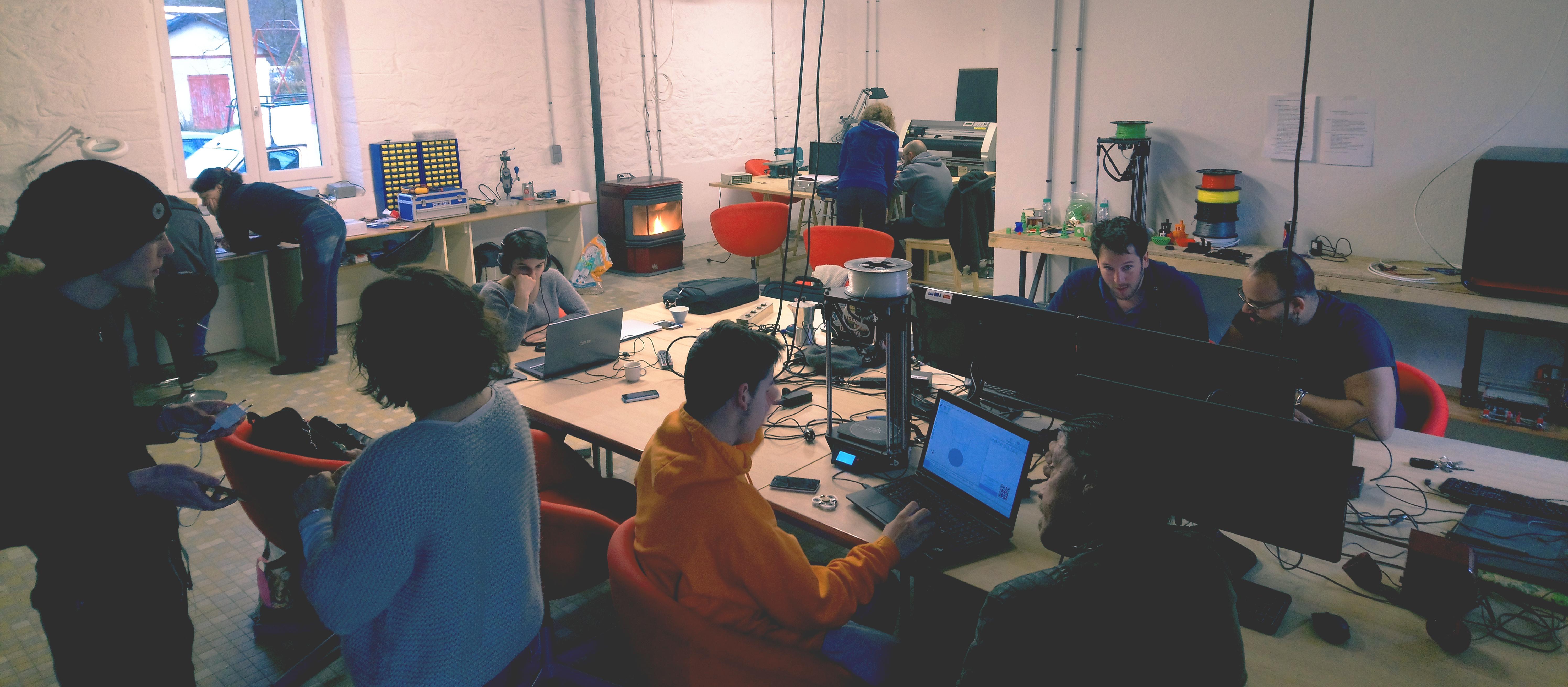 Atelier libre autour de l'équipement du lab